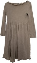 Miu Miu Beige Wool Dress for Women