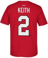 Reebok Men's Chicago Blackhawks Duncan Keith Matrix Tee