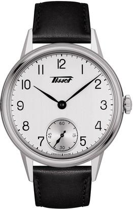 Tissot Men's Heritage Leather Strap Watch, 42mm
