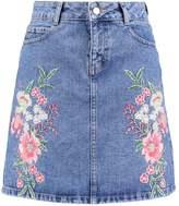 Dorothy Perkins Denim skirt blue