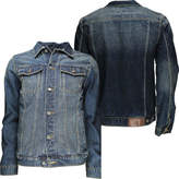 Soul Star Soulstar Mens Designer Denim Vintage Jacket Denim Wash Jacket