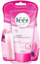 Veet In-Shower Hair Removal Cream with Lotus Milk & Jasmine Fragrance for Normal Skin 150ml