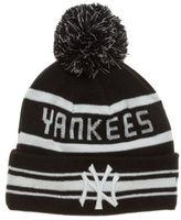 New Era New Mens Black New York Yankees Acrylic Beanie Beanies