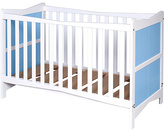 Saplings Kitty Cot Bed - Blue and White