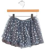 Bonpoint Girls' Metallic Tulle Skirt