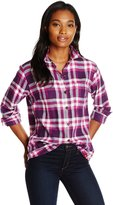 Dickies Women's Long-Sleeve Flannel Shirt