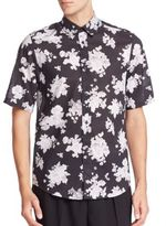 McQ by Alexander McQueen Shields 16 -Acid Floral Shirt