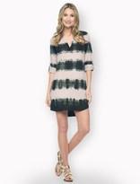 Splendid Wilder Tencel Dip Dye Shirt Dress