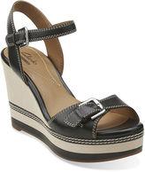 Clarks Zia Castle Wedge Sandals
