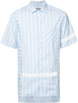 Lanvin vertical-stripe shirt - men - Cotton - 39