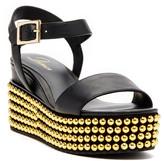 Delman Angie Studded Platform Sandal
