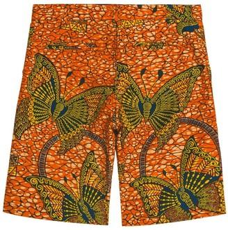 Bonpoint Elyas Multicolor Kids Shorts Orange