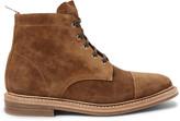 Thom Browne - Cap-toe Suede Boots