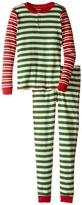 Hatley Holiday Stripe Henley Pajama (Toddler/Little Kids/Big Kids)