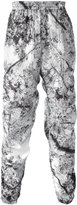 MSGM marble print track bottoms - men - Polyamide/Polyester - 46