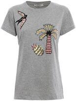 Valentino Tropical Dream Applique T-shirt