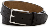 Steve Madden Pebble Stitched Leather Belt