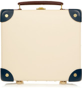 Globe-trotter The Goring 9 Mini Leather-trimmed Fiberboard Travel Trolley - Cream