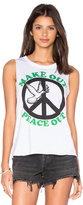 Chaser Make Out Peace Out Tank