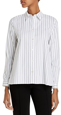 Theory Trapeze Good Cotton Shirt