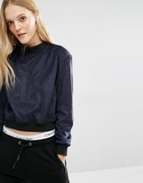 Calvin Klein High Neck Logo Sweatshirt