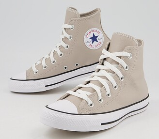 Converse Hi Leather Trainers String