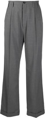 Maison Margiela High-Waisted Flared Trousers