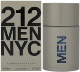Carolina Herrera 212 By For Men. Eau De Toilette Spray 1.7 Ounces