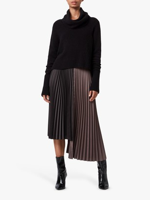 AllSaints Jessie Roll Neck Jumper Dress