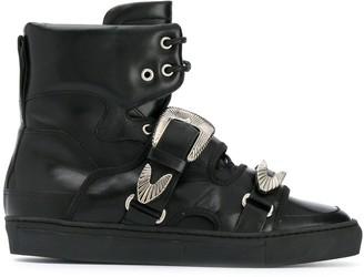 Toga Virilis Double Strap Boots