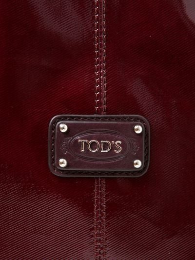 Tod's New G Coated Canvas Small Tote