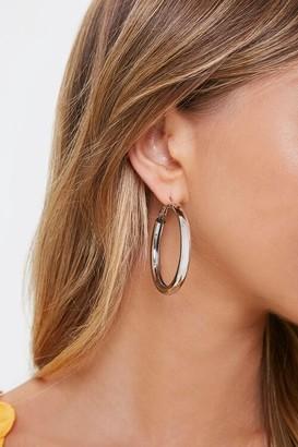 Forever 21 Smooth Hoop Earrings