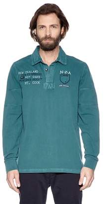 New Zealand Auckland NZA Rugby Polo Shirt - Green - XX-Large