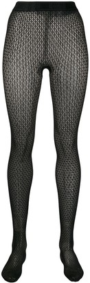 Wolford Jeanne patterned tights