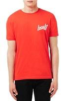 Topman 'Locals Only' Graphic Crewneck T-Shirt