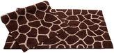 Asstd National Brand Chesapeake Merchandising Giraffe 2-pc. Bath Rug Set