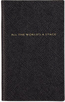 """Smythson All The World's A Stage"""" Panama Notebook"""