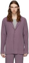 Issey Miyake Homme Plisse Purple Tailored Pleats 1 Blazer