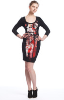 Tracy Reese Contrast Sheath