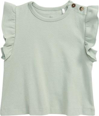 Oliver & Rain Kangaroo Flutter Sleeve T-Shirt