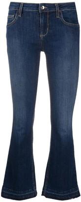 Liu Jo Low Rise Cropped Jeans