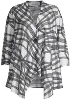 Thumbnail for your product : Caroline Rose, Plus Size Catch A Wave Open-Front Cardigan