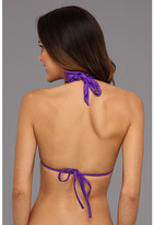 Seafolly Shimmer Macrame Fixed Molded Tri Top