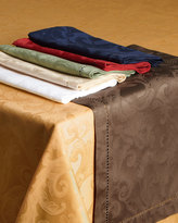 "Sferra Plume Jacquard 70"" x 162"" Tablecloth"
