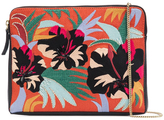 Lizzie Fortunato Safari Cuban Hibiscus Clutch