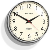 Newgate Clocks - Watford Clock - Chrome
