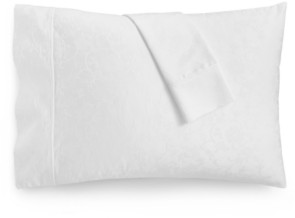Aq Textiles Bergen House Woven Floral Vine 2-Pc. Standard Pillowcase Set, 1000-Thread Count 100% Certified Egyptian Cotton Bedding