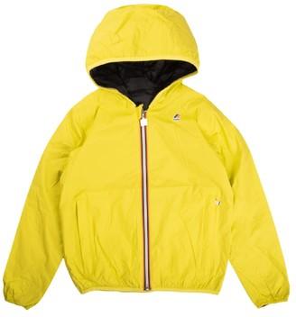 K-Way Jacket Reversible Fluorescent Yellow / Blue