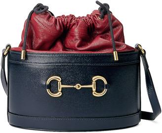 Gucci Morsetto Bucket Bag in Red & Black | FWRD