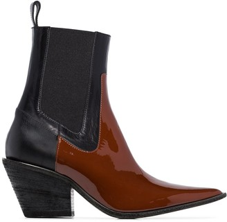 Haider Ackermann Buffalo 60mm Western Boots